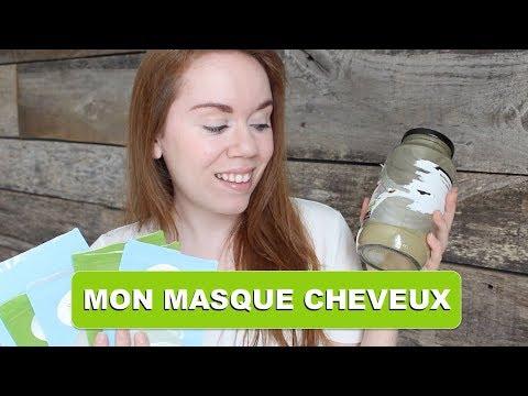 Recette Maison : MASQUE POUR CHEVEUX 100% NATUREL