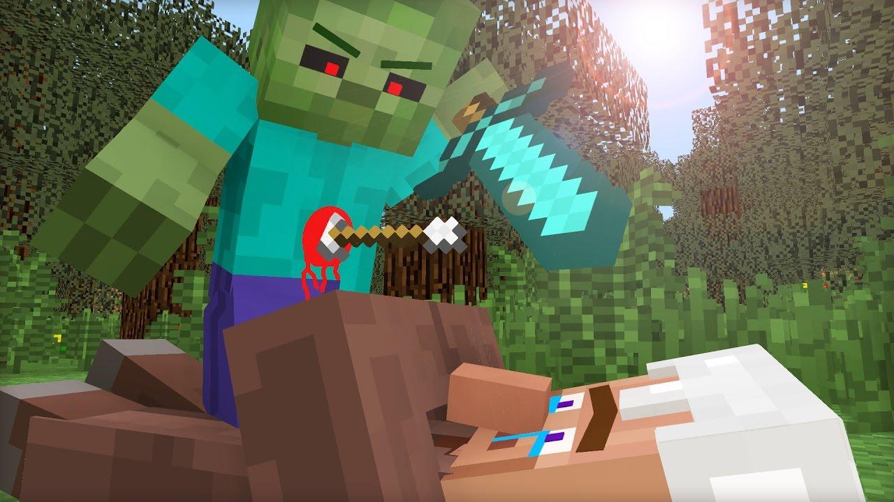 Villager Life II - Minecraft Animation - YouTube