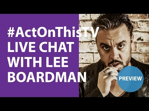 P: Lee Boardman Live Video Broadcast!