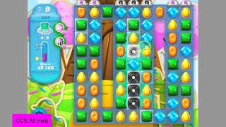 Candy Crush Soda Saga Level 483 NEW Frosted bears