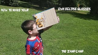 HOW TO MAKE YOUR OWN ECLIPSE GLASSES VIEWER IN 5 MINUTES