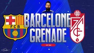 Live Talk BARCELONE GRENADE Tirage 1 8 Coupe de France Liga J 20