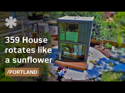 Portland's 359 skinny house follows the sun like a sunflower