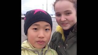 Vlog:Олимпийский Парк.Ледовое Шоу Авербуха-Морозко
