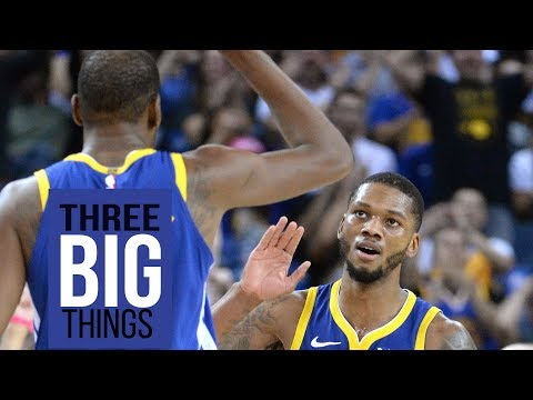 3 Big Things Draymond's defense, Klay's shooting and McKinnie's role