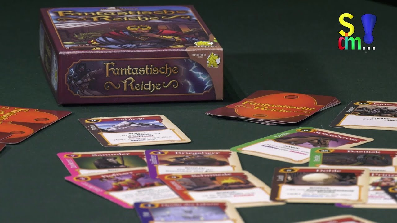 Spiel doch mal FANTASTISCHE REICHE! - Brettspiel Rezension Meinung Test #366