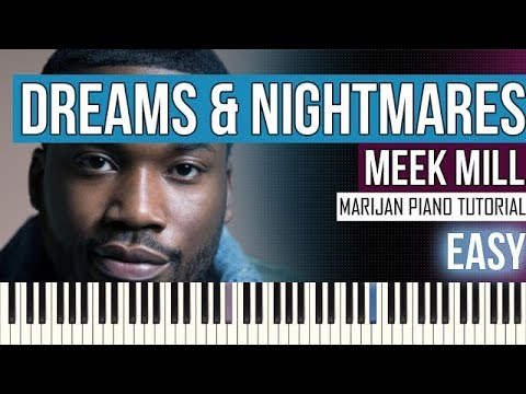 How To Play: Meek Mill - Dreams And Nightmares (Intro) | Piano Tutorial EASY