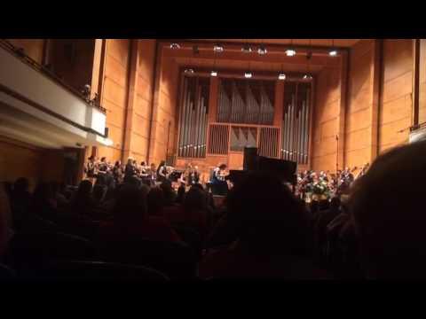 D.Shostakovich -Piano Concerto no.1,Cadenza by Nadejda Tzanova - piano & Peter Makedonski - trumpet