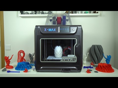 QIDI-TECH X-Max 3D printer review - Fully enclosed 3D printer