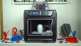 QIDI-TECH X-Max 3D printer review - Fully enclosed 3D printer