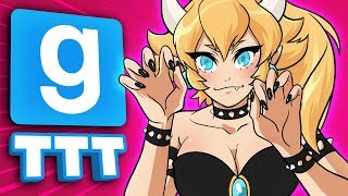 BOWSETTE in FORTNITE in MINECRAFT in GMOD | Gmod TTT