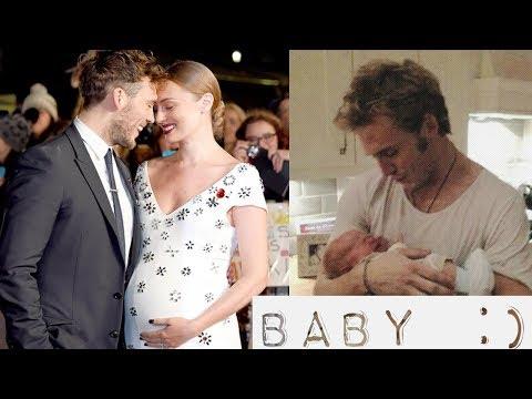 Sam Claflin's Son & Wife - Laura Haddock Baby