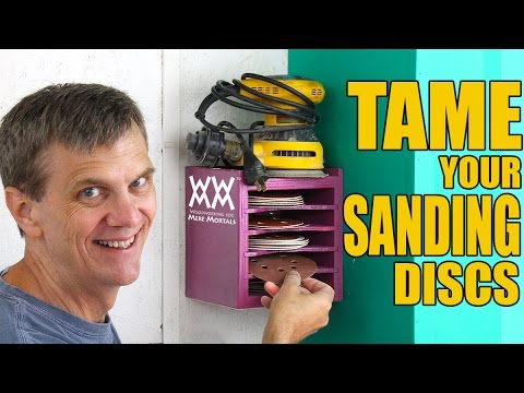 Sandpaper Organizer | Shop Project