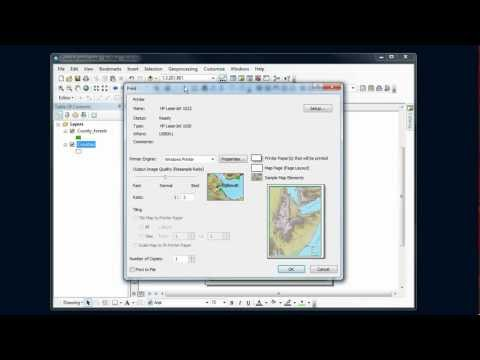 ArcMap Tips - PDF Export