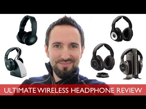 Top 5 Wireless Headphones Review - The BEST Wireless Headphones for 2014