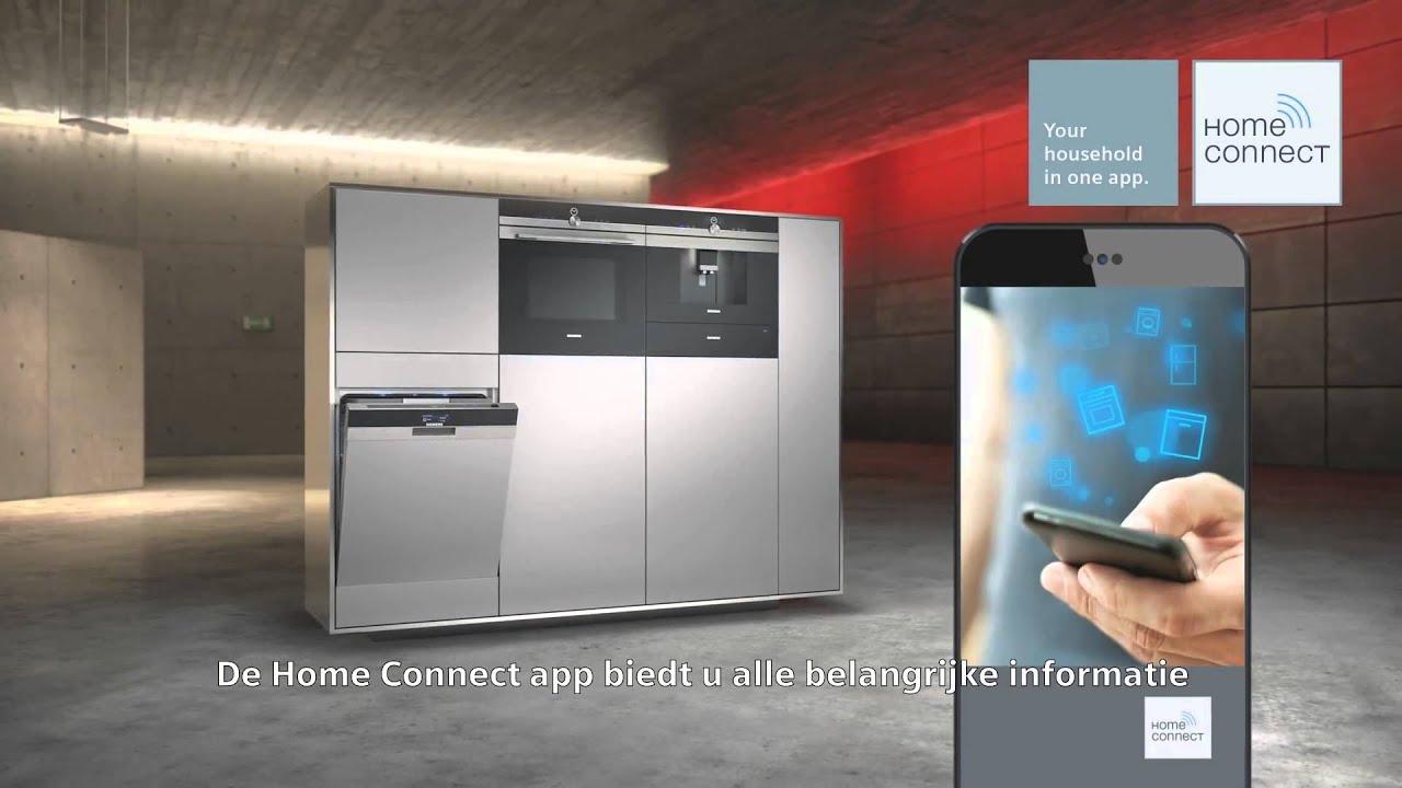 Siemens home connect vaatwasser