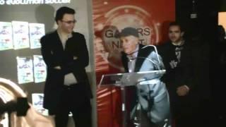 Silvio Luiz fala sobre sua participação em PES 2011 na Konami Gamers Night