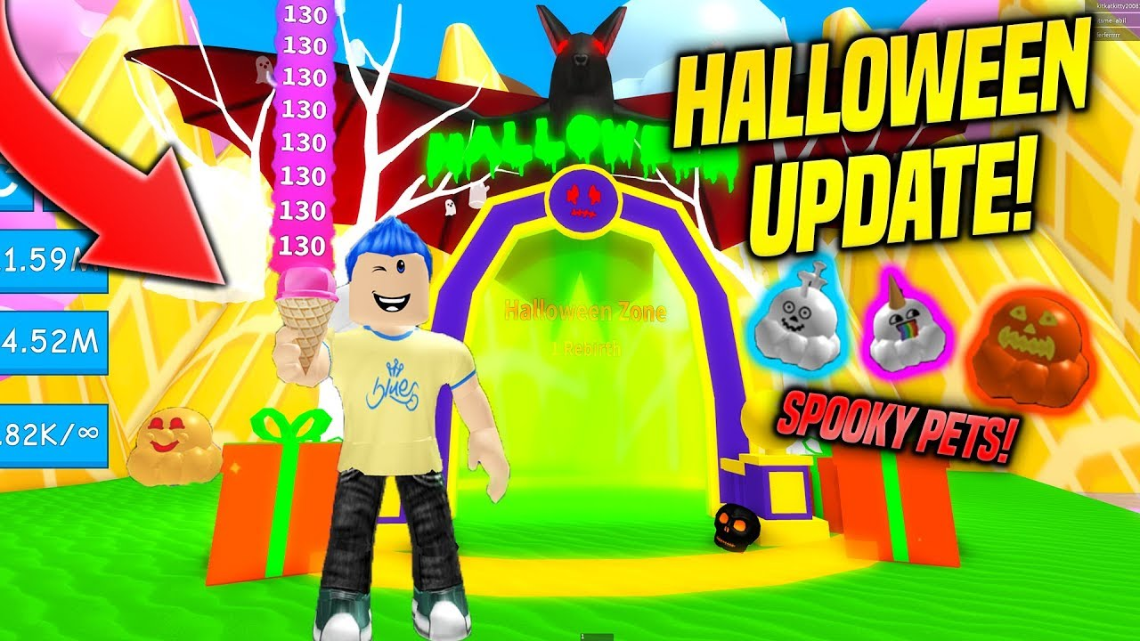 *NEW* HALLOWEEN PETS IN ICE CREAM SIMULATOR UPDATE!! (Roblox)