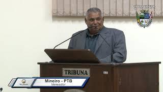 28ª Sessão Ordinária - Vereador Mineiro