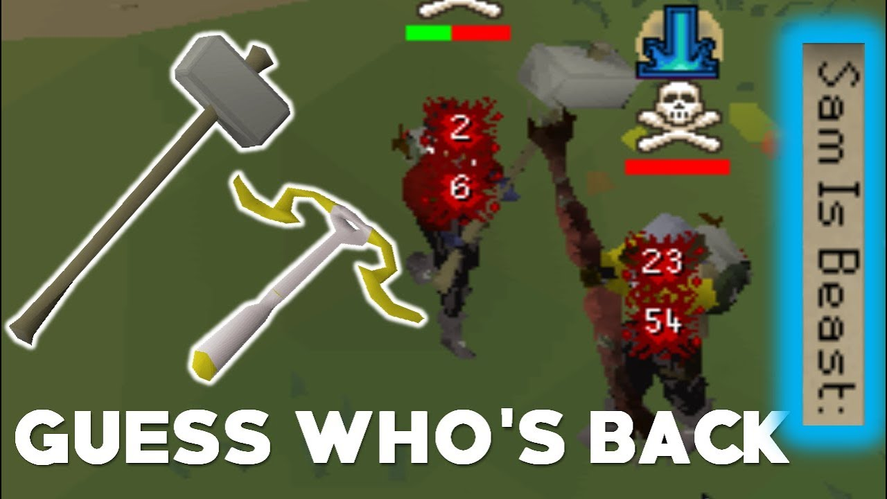 Armadyl Crossbow To Gmaul Pure Pking Osrs Overpowered Combo Youtube