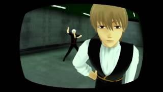【MMD銀魂】Gintoki+Okita+Len (Gigantic O.T.N.) ギガンティックO.T.N thumbnail