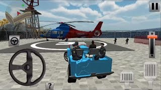 Offroad Police Transporter: Police Cargo Helicopter Game | Android Gameplay HD