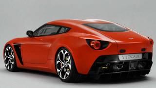 Aston Martin V12 Zagato Concept 2011 Videos