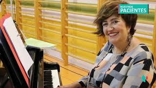 Elena Arandia, paciente de la Unidad Integral de Obesidad