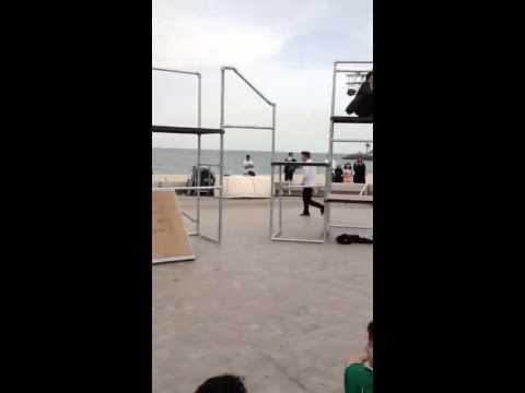 Parkour Exhibition - Dauer: 23 Sekunden