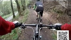 Große Mountainbike Sengbachtalsperren Tour Solingen