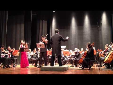 4º Festival de Inverno de Rio Claro, SP - Orquestra Filarmônica de Rio Claro -- Mozart: K 364
