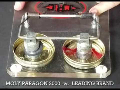 TRC Moly Paragon 3000 Extreme Pressure & Water Resistance Test