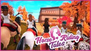 Horse Riding Tales #7 || Wyścigi z graczami!