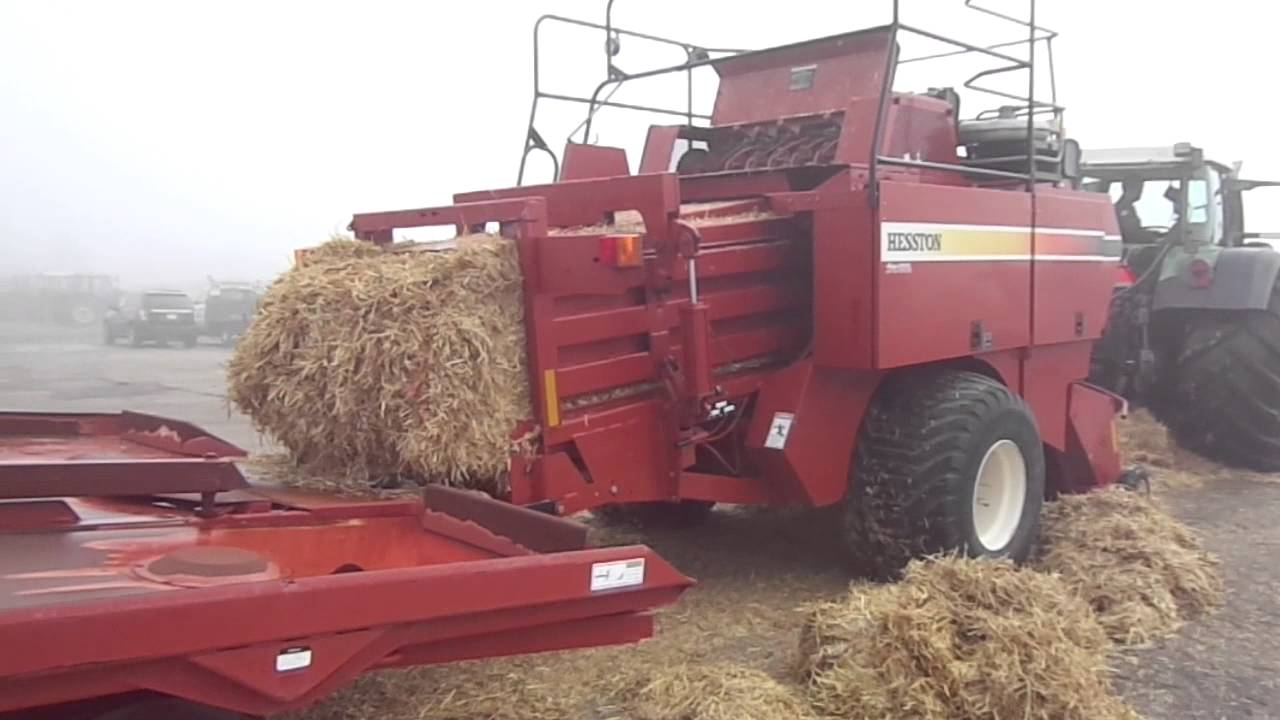 Hesston 4790 Square Baler - Stock Number P408a  2