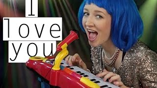 Kimberly-Blue - I love you ORIGINAL MUSIC VIDEO with LYRICS | Mirellativegal