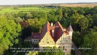 Zamek Czerna - zgrane trio zamek, park i rzeka