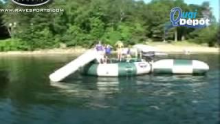 Quai Dépôt :: Aqua Jump par Rave Sports