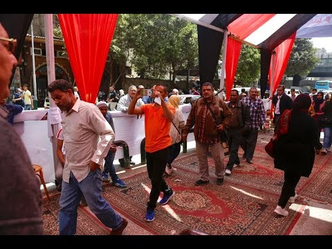 المصريون يصوتون على التعديلات الدستورية  - نشر قبل 2 ساعة