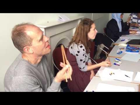 150618 Workshop Teaching Chopsticks Basil Paterson College Edinburgh Bg Lemon Tree