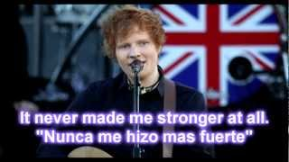 Ed Sheeran - Drunk Lyric/Letra Ingles/Español