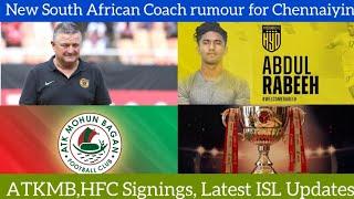 Gavin Hunt New Rumour Coach for Chennaiyin FCATKMB searching Asian StrikerHFC New signingTSN