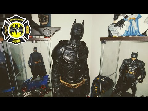 UD REPLICAS Batman The Dark knight review costume Batman cosplay