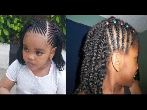 Little Girl Twist Hairstyles YouTube
