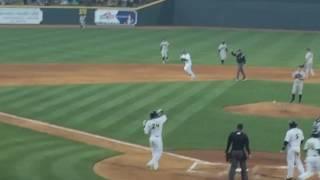 Tim Tebow hits a home run in Minor league baseball debut!