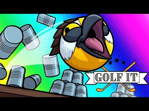 Golf-it Funny Moments - Carnival Games!