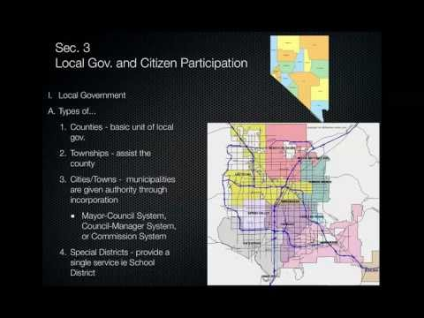16.3 Local Government and Citizen Participation