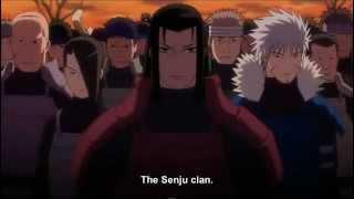 Uchiha Madara VS Hashirama Senju (The First Hokage) [360p]