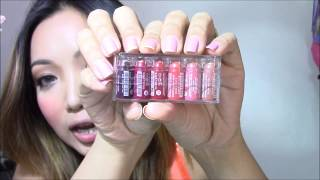 Golden Rose Velvet Matte Lipstick   One of the smallest lipsticks in the world!