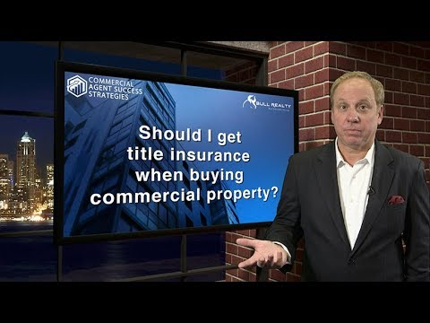 Should I get title insurance when buying commercial property?