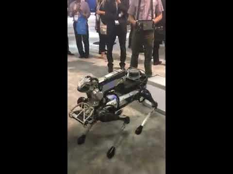 Boston Dynamics SpotMini at MWC Americas